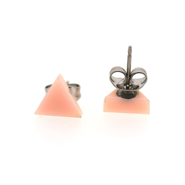 PASTEL STUDS TRIANGLE - 7 COLOURS TO CHOOSE FROM!
