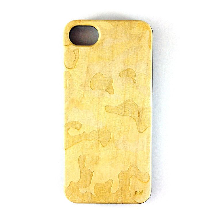 IPHONE 5 - CAMO MAPLE