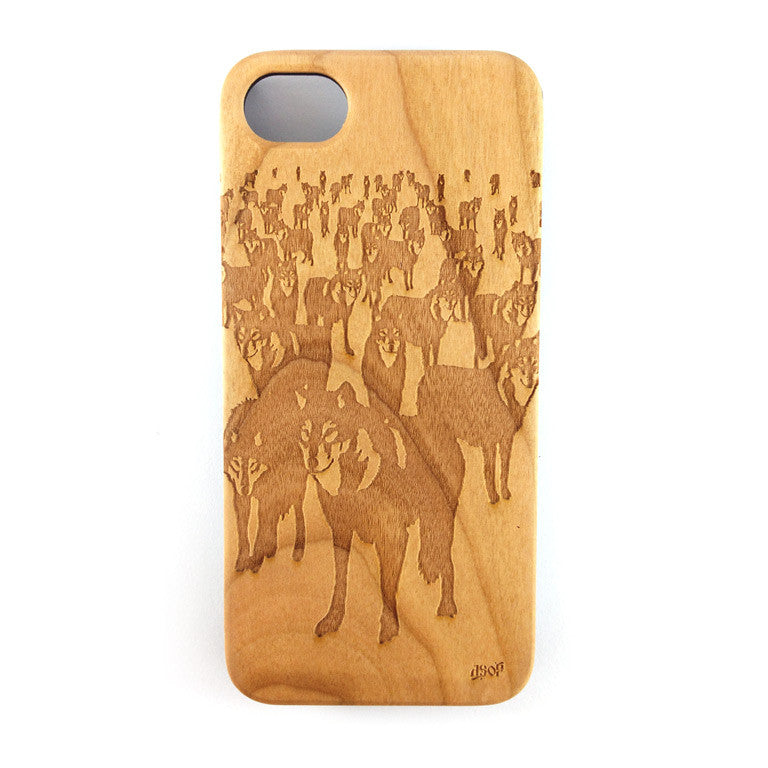 IPHONE 4 - WOLF PACK (B)