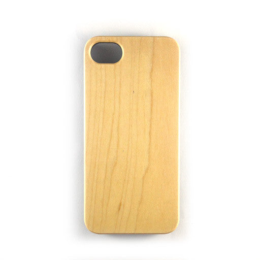 IPHONE 5 - PLAIN MAPLE