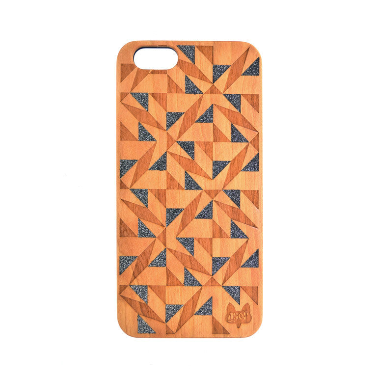 IPHONE 7 TESSELLATE BLACK DIAMOND