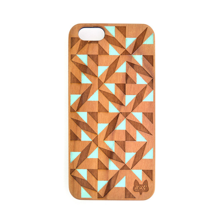 IPHONE 7 TESSELLATE MINT