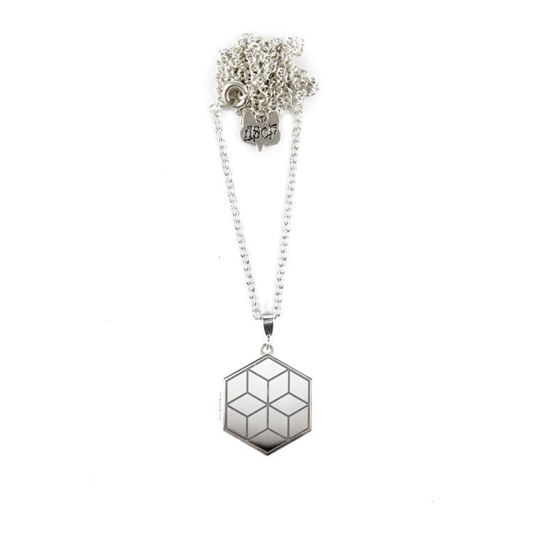 LOCKET HEXAGON MORNING STAR