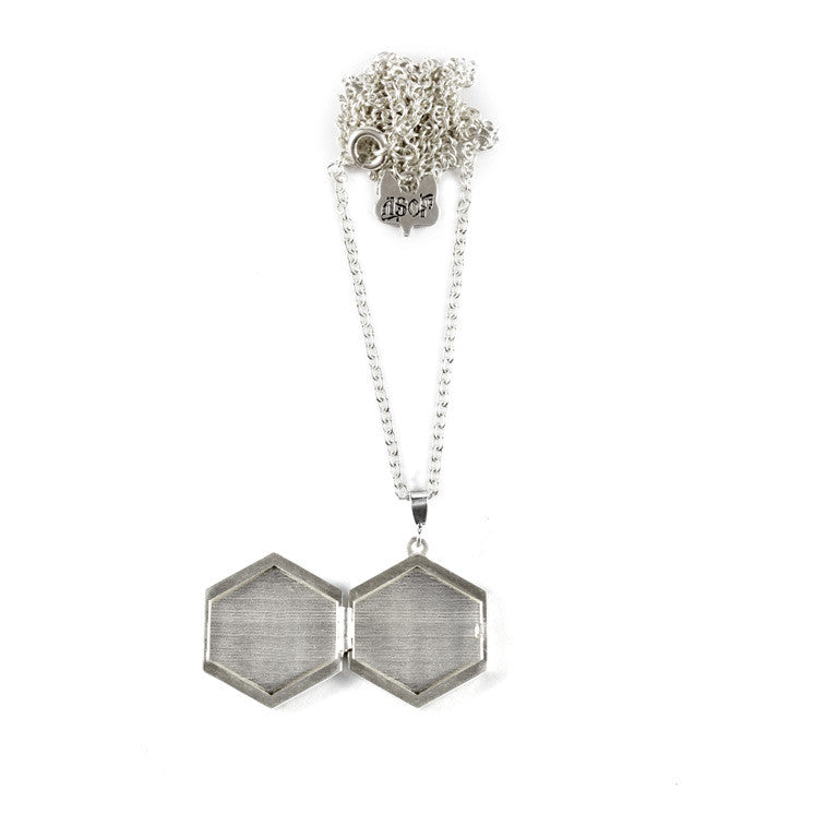 LOCKET HEXAGON OPEN
