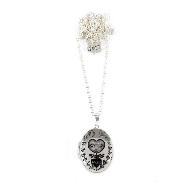 Heart Bud Locket