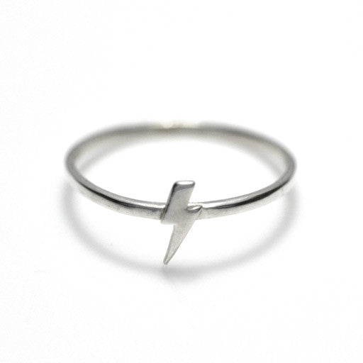 sterling silver lighning ring