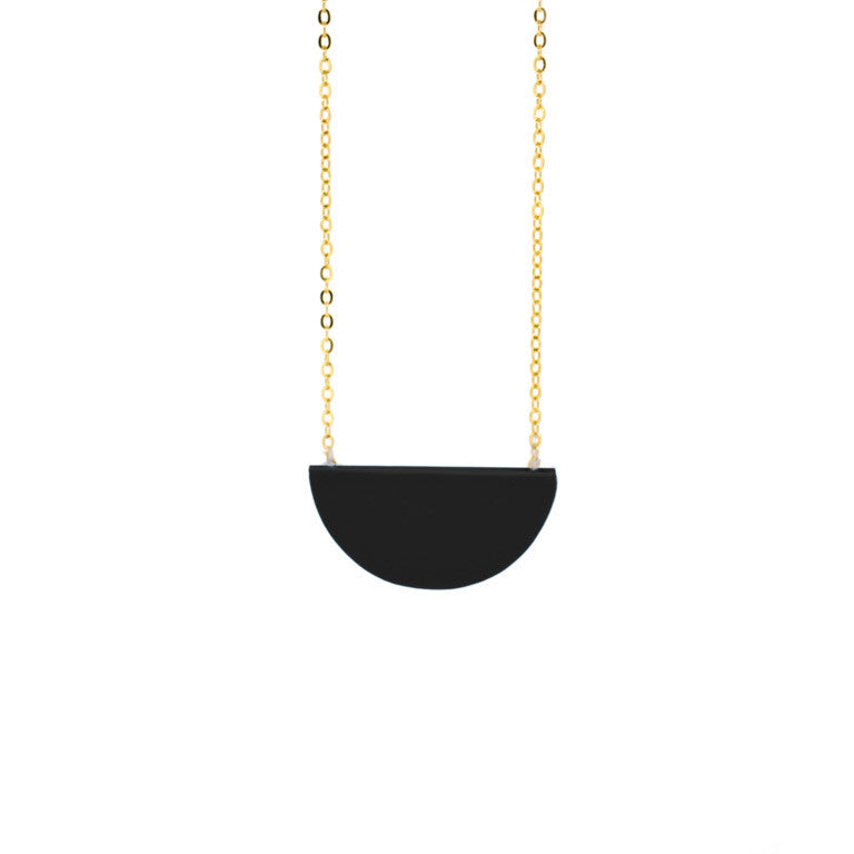 SLICE NECKLACE BLACK