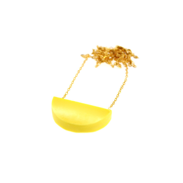 SLICE NECKLACE LEMON
