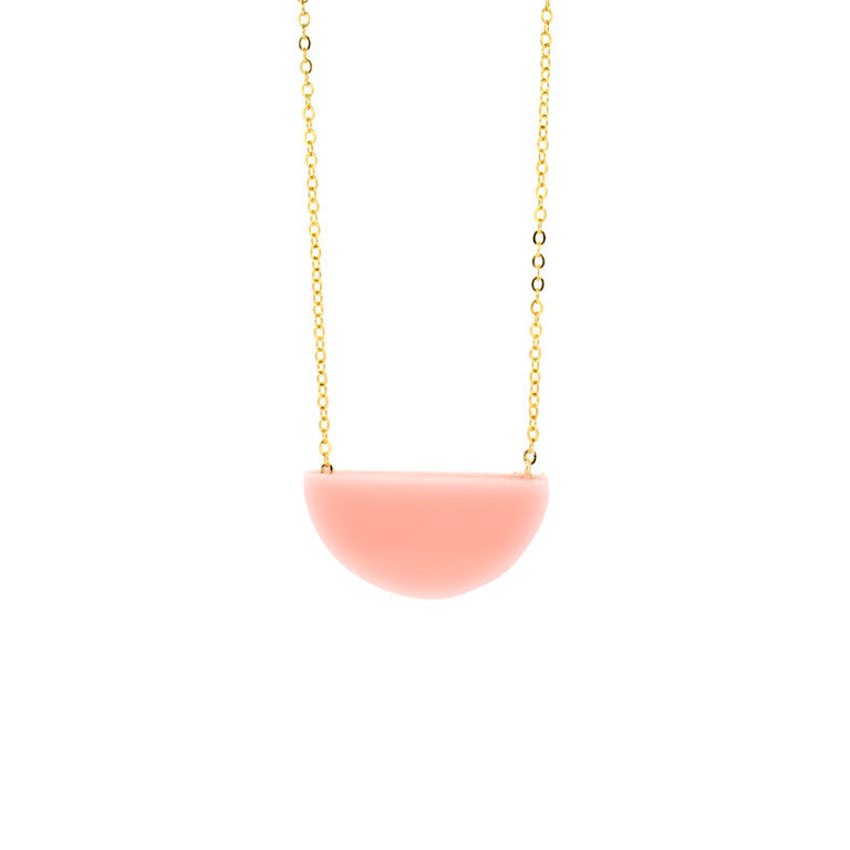 SLICE NECKLACE BLUSH