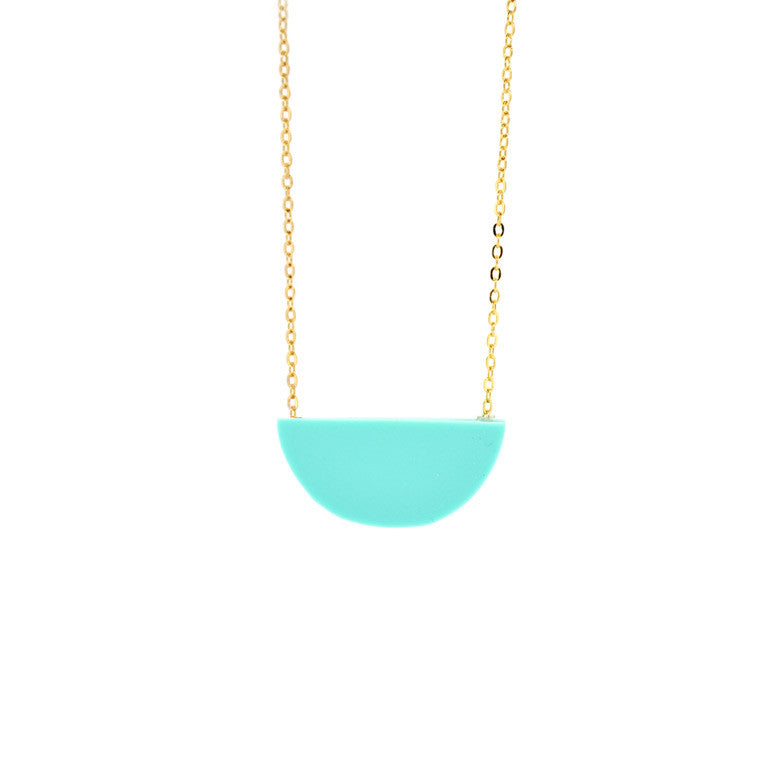 SLICE NECKLACE MINT