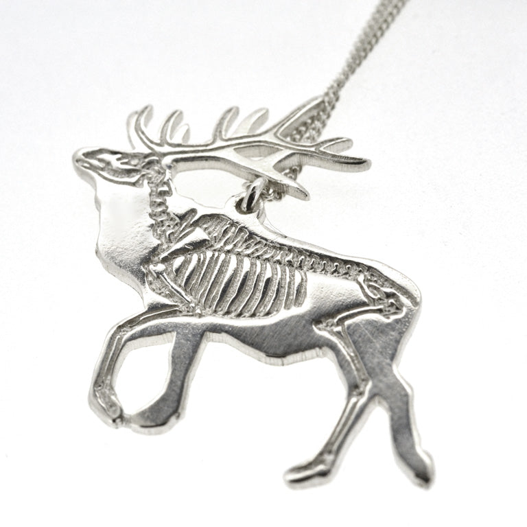 X-Ray Elk Necklace