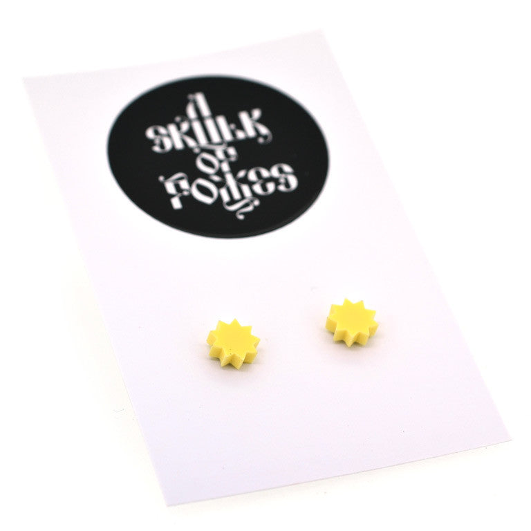 PASTEL STUDS STAR - 7 COLOURS TO CHOOSE FROM!