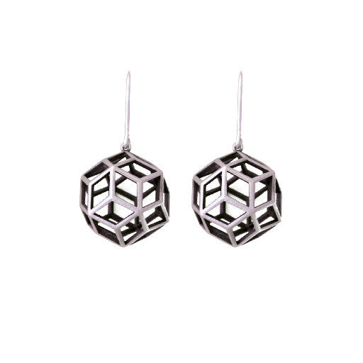 BALL EARRINGS SILVER