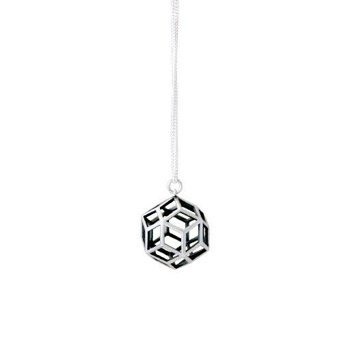 polyhedra rhombic ball necklace