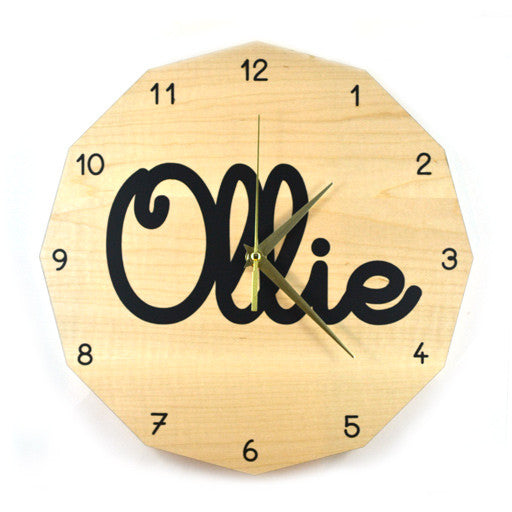 Custom Name Clock