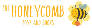 the honeycomb toys and books logo