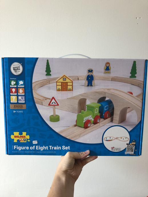 BigJigs - Figure of 8 Train Set