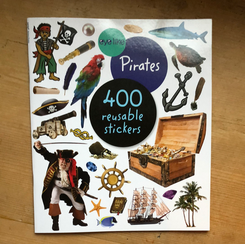 Eye Like Sticker Book - Pirates