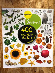 Eye Like Sticker Book - Seasons