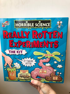 Galt Horrible Science Kit: Really Rotten Experiments