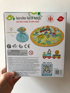 Tender Leaf Toys Safari Park Story Bag