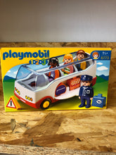 Load image into Gallery viewer, Playmobil 123 - Airport Shuttle Bus