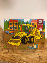 Load image into Gallery viewer, Bigjigs Digger 9 piece Puzzle