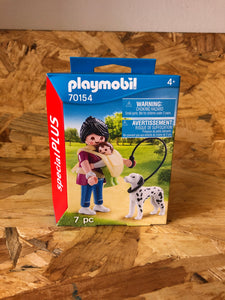 Playmobil - Mother with Baby and Dog