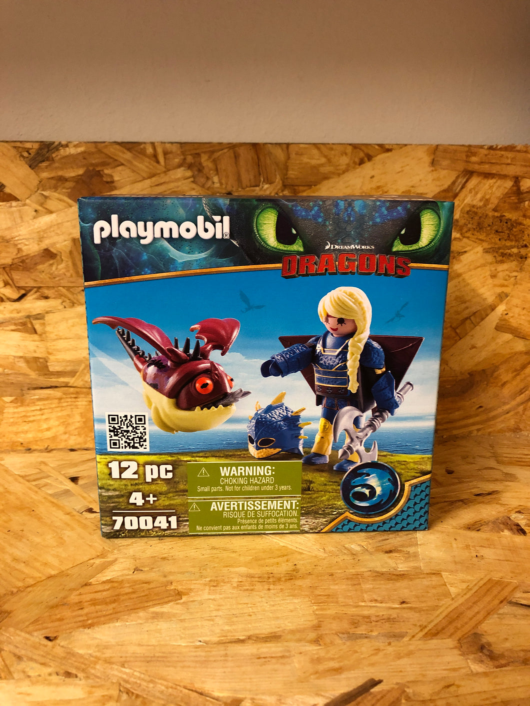 Playmobil - Dragons Astrid and Hobgobbler