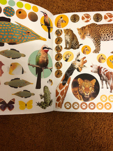 Eye Like Animals Sticker Book