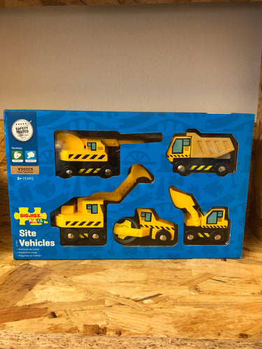 BigJigs - Construction Site Vehicles