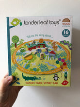 Load image into Gallery viewer, Tender Leaf Toys Safari Park Story Bag
