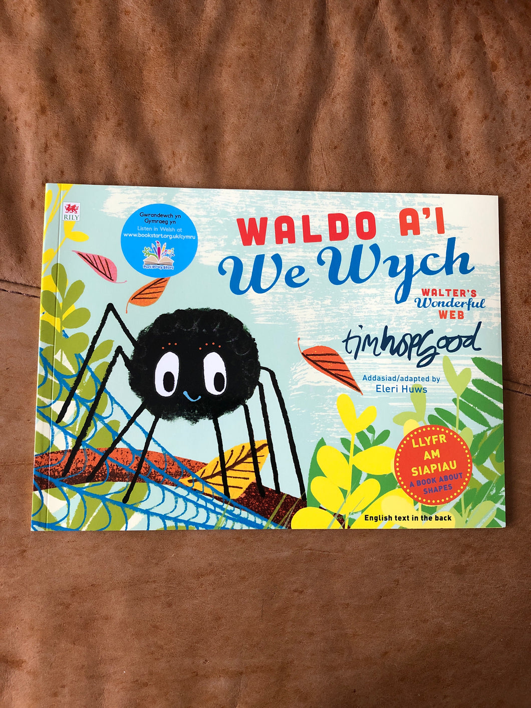 Waldo a'i We Wych - Walter's Wonderful Web