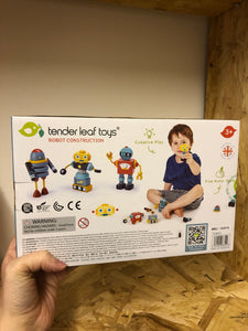 Tender Leaf Toys Robot Construction
