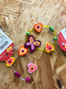 Bigjigs - Wooden Heart Bracelet