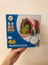 Load image into Gallery viewer, Bigjigs Red Brick Tunnel