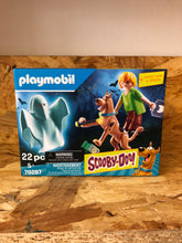 Load image into Gallery viewer, Playmobil - Scooby-Doo!  Scooby & Shaggy with Ghost