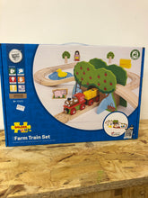 Load image into Gallery viewer, Bigjigs Farm Train set