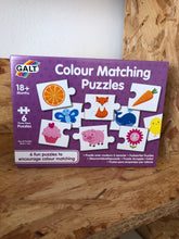 Load image into Gallery viewer, Galt - Colour Matching Puzzles
