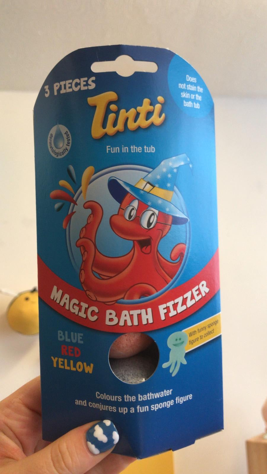 Tinti - Magic Bath Fizzer 3 pack
