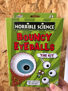Galt Horrible Science: Bouncy Eyeballs Kit
