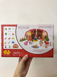Bigjigs Mini Farm Playset