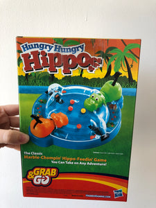 Hungry Hungry Hippos Grab & Go version