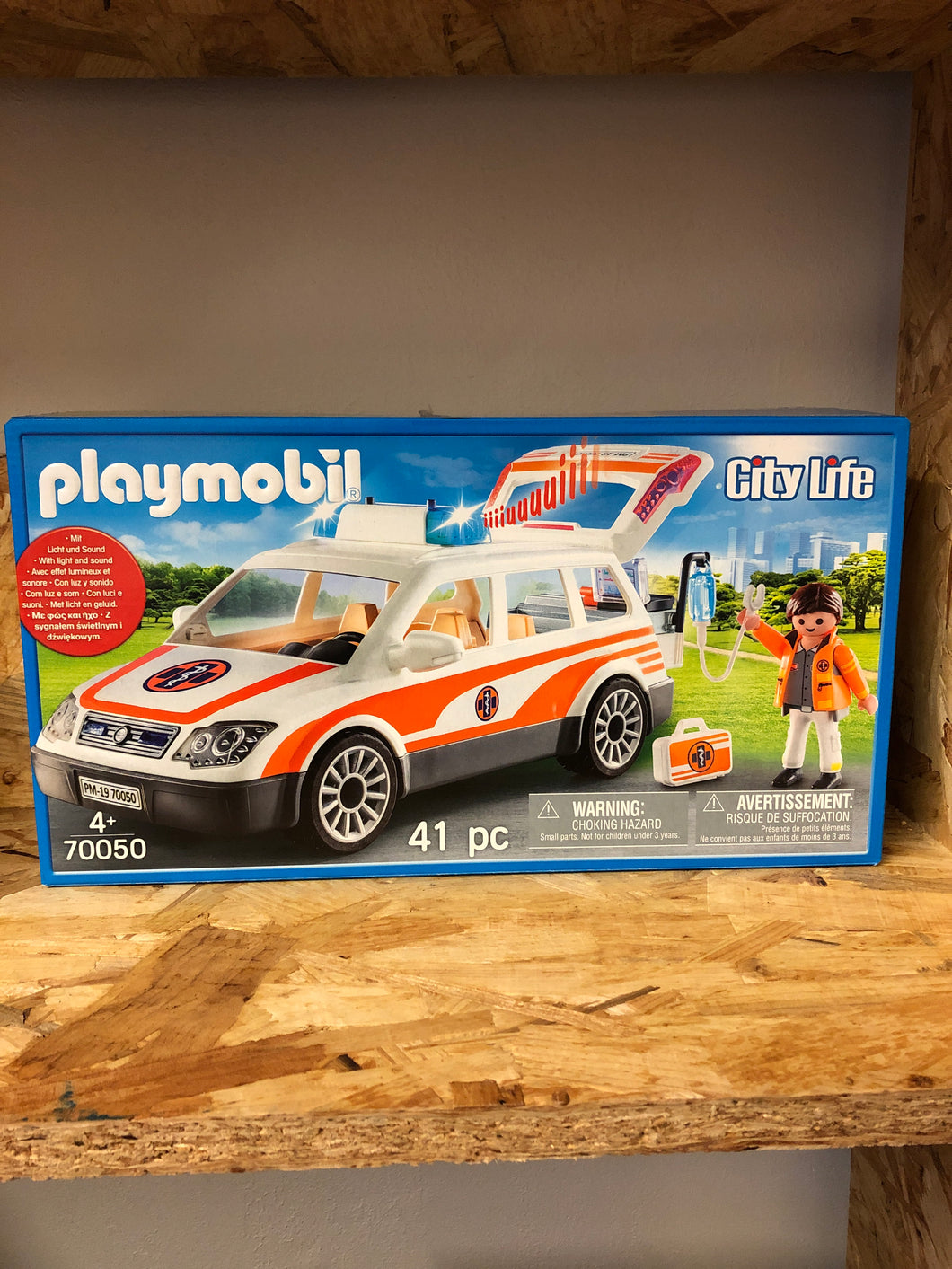 Playmobil - City Life Emergency Car