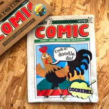 Load image into Gallery viewer, Nursery Times Crinkly Cloth Books - Comics