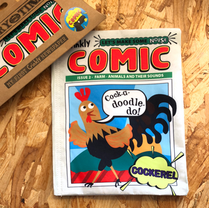 Nursery Times Crinkly Cloth Books - Comics