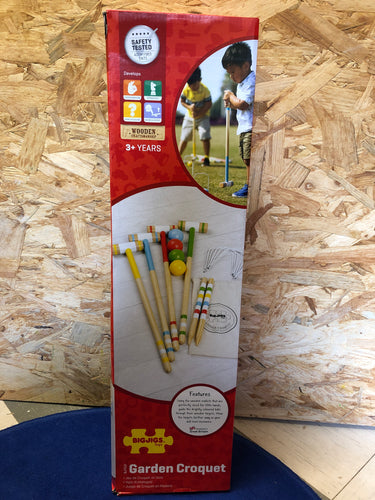 Bigjigs Garden Croquet