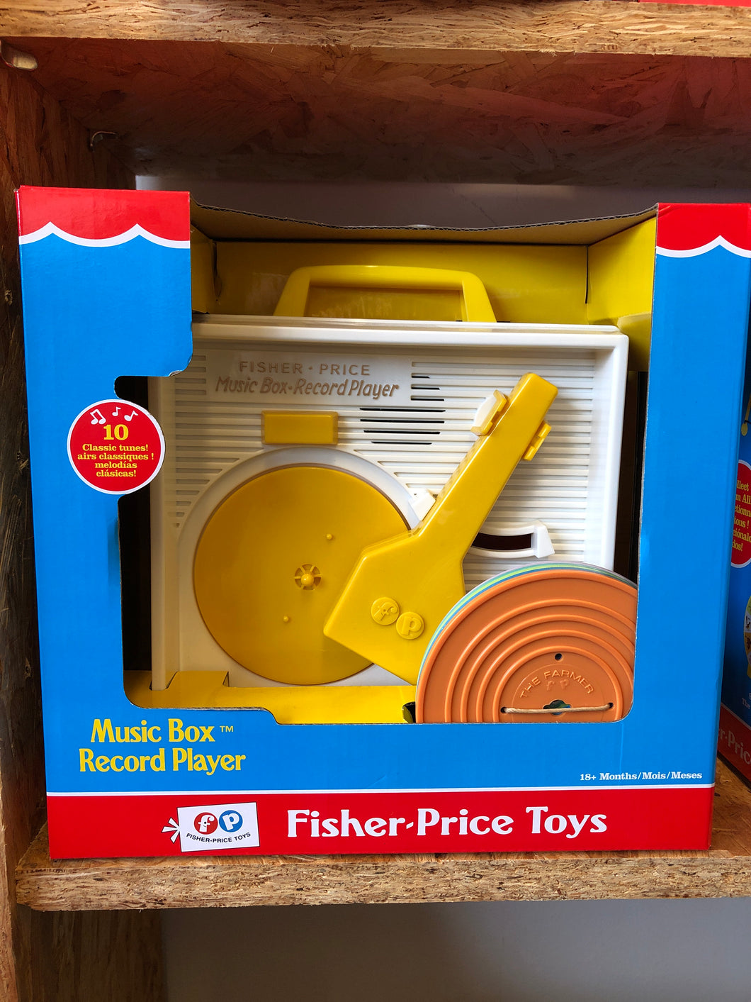 Fisher Price - Music Box Record Player