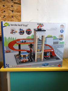 Tender Leaf Toys - Blue Bird Service Station