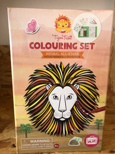 Tiger Tribe Colouring Sets